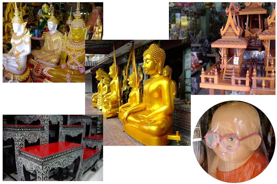 Bangkok, walk around Bangalamphu