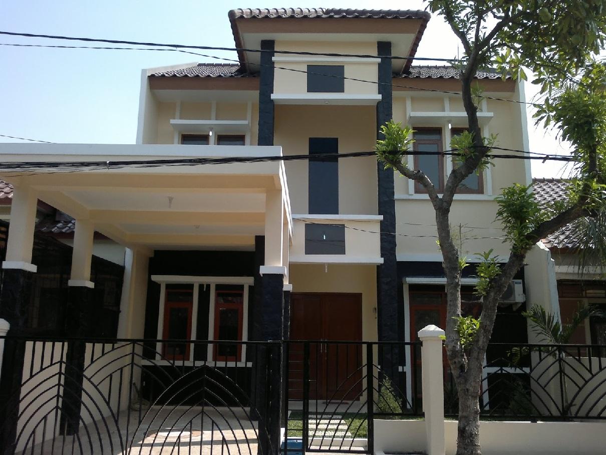 Hasil proyek Renovasi total dan pengembangan rumah 1 lantai menjadi 2 lantai milik Bapak Toni Karlinda di Jl bambu Ori Taman Yasmin, Bogor, 2012