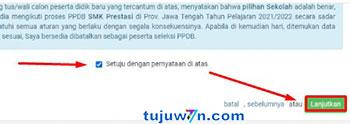 Cara merubah jalur pendaftaran ppdb 2021 SMK/SMK