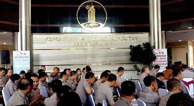 Suasana peluncuruan PMJnews.com di Polda Metro-Jaya