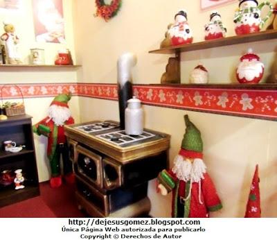 Foto de la Cocina en la casa de Papa Noel (lado derecho). Foto de la Cocina de Papa Noel de Jesus Gomez