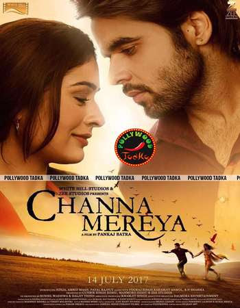 Poster Of Punjabi Movie Channa Mereya 2017 Full HD Movie Free Download 720P Watch Online