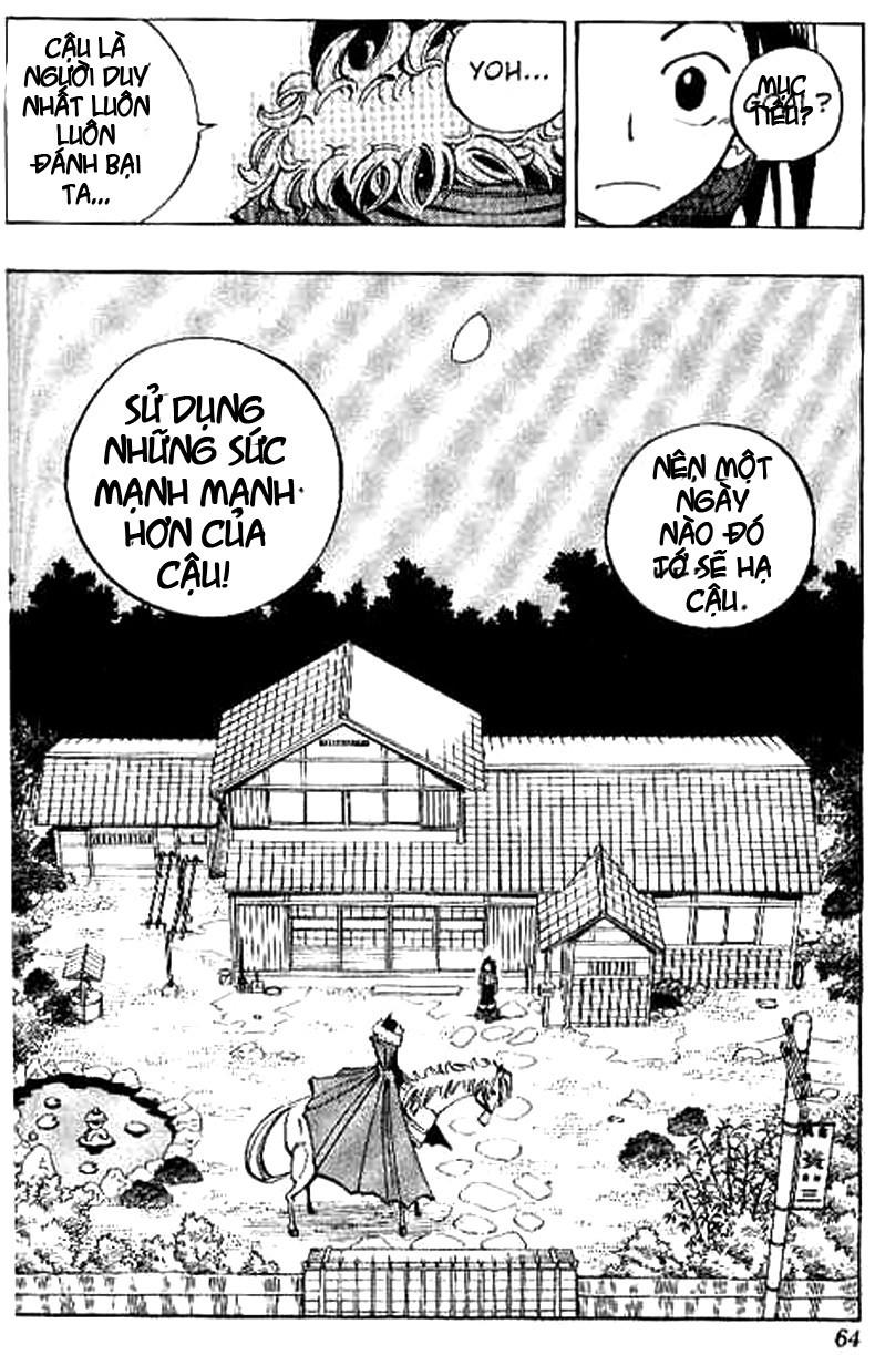 Shaman King [Vua pháp thuật] chap 65 trang 18