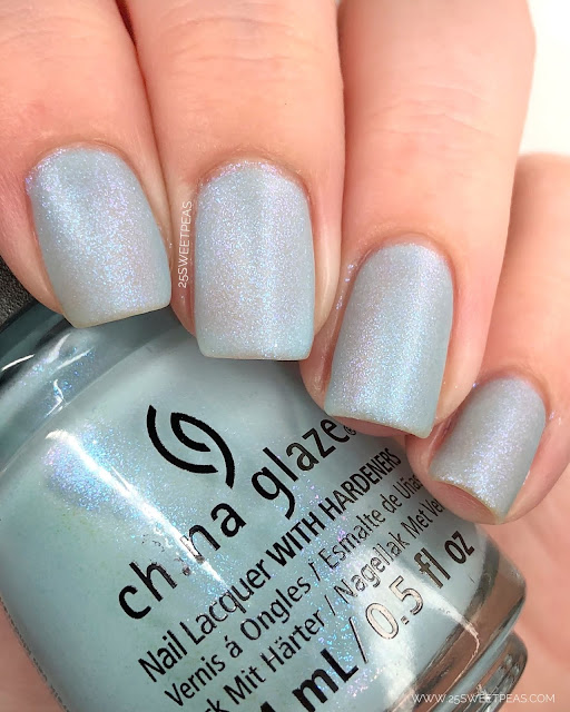 China Glaze Chill in Symphonyville 25 Sweetpeas