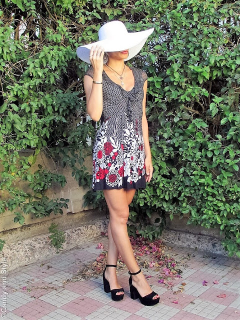 Floppy Hat + Flirty Dress