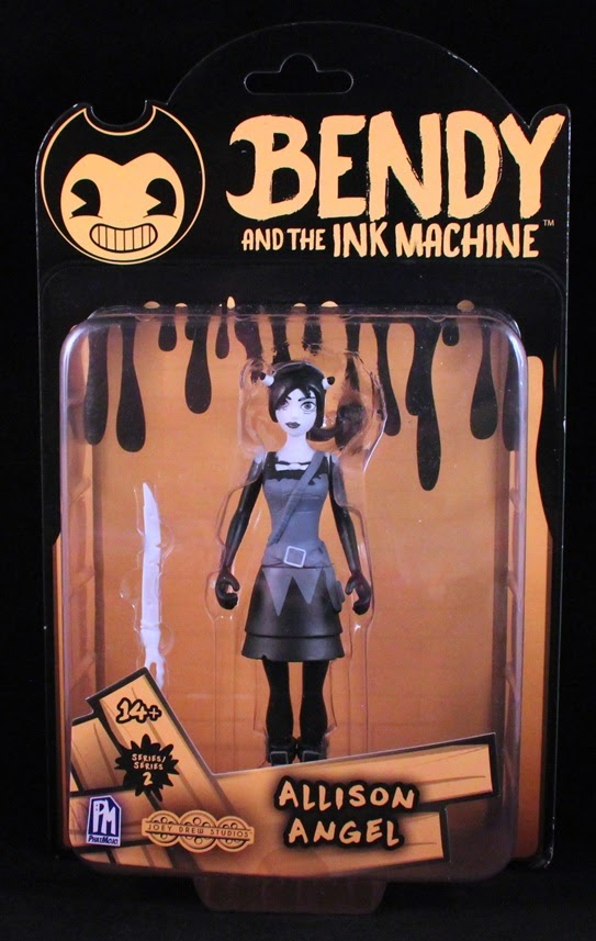 She S Fantastic Bendy And The Ink Machine Allison Angel Allison angel is the cartoon form of allison pendle and the alternative form of the original alice angel who appeared at the end of chapter 4: ink machine allison angel