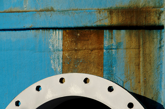 industrial, abstract photography, urban photography, urban art, urban photo, abstract urban photo, blue and brown photo, Sam Freek, contemporary photography,