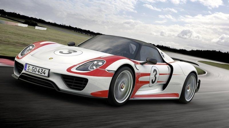 世界最速の車 ポルシェ918スパイダー