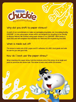 Chuckie Paper Straw