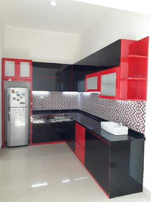 Model Kitchen Set Minimalis Murah