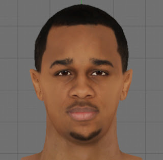 NBA 2K13 John Henson Cyber Face Patch