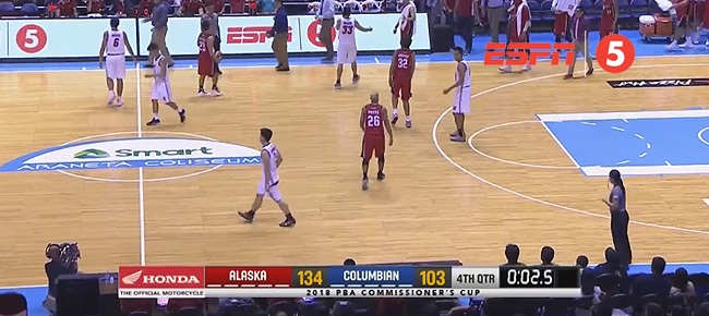Alaska def. Columbian Dyip, 134-103 (REPLAY VIDEO) May 4