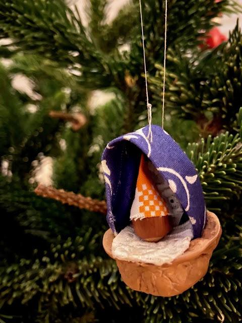 Weihnachtsbaumschmuck selbst gebastelt