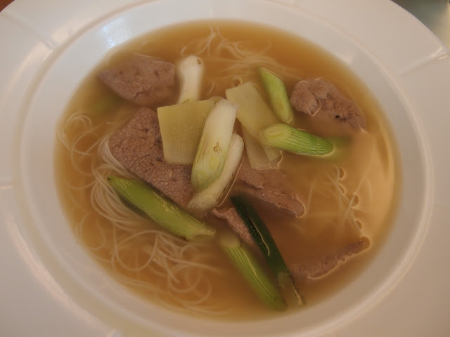 Vermicelli Soup with Pig Liver