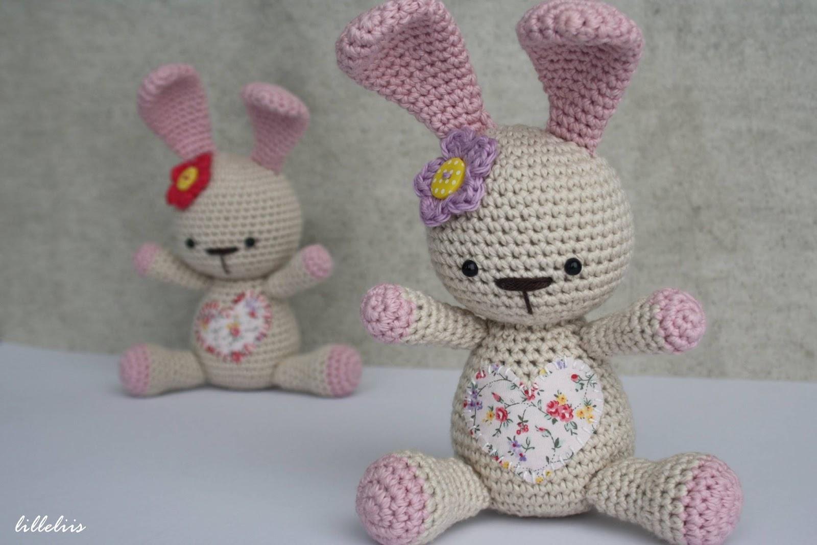 Amigurumi Mini Bunny : Amigurumi Funny Bunny-Free Pattern - Amigurumi Free Patterns