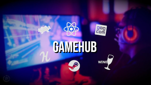 gamehub-steam-gog-humblebundle-retroarch-games-linux-ubuntu