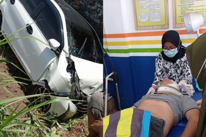 Tabrak Pondasi di Pinggir Jalan, Warga Bulukumba Kritis Usai Kecelakaan di Bone