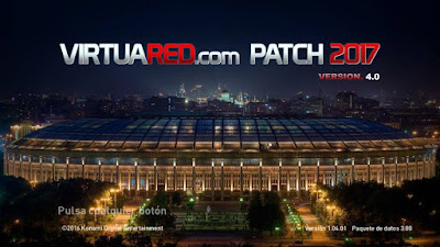 PES 2017 VirtuaRED.com Patch 2017 Season 2017/2018