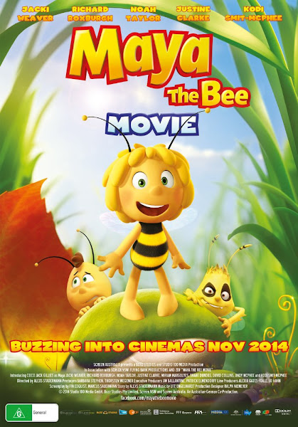 Maya The Bee Movie 2014 720p English BRRip Full Movie Download extramovies.in Maya the Bee Movie 2014