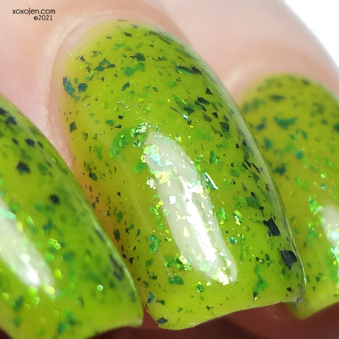 xoxoJen's swatch of Nevermind Polish Without You Everything Falls Apart
