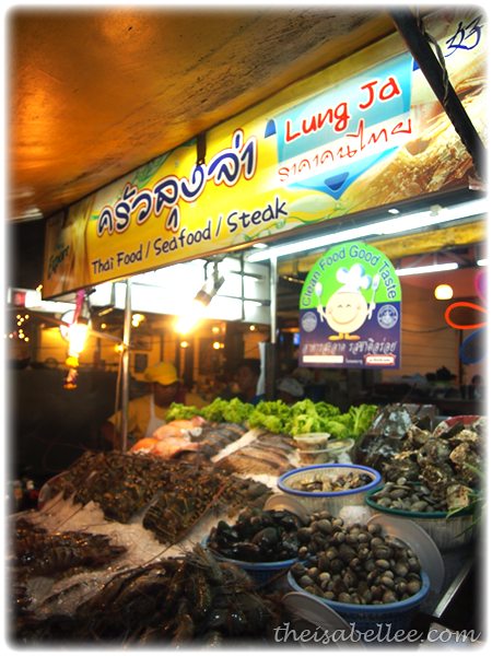 Lung Ja Seafood Restaurant in Hua Hin