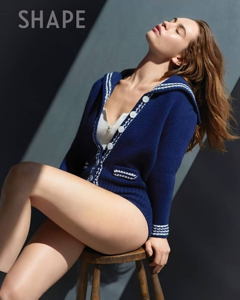 Lily James Clicked for Shape Magazine- September 2020