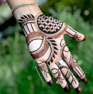 Arabic Mehndi Designs Front Hand