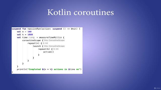 Complete Kotlin Coroutines development course