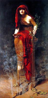 Pitonisa Romana.