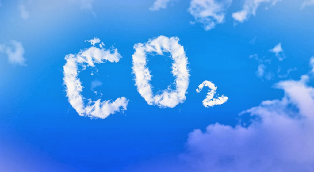CO2 in der Luft