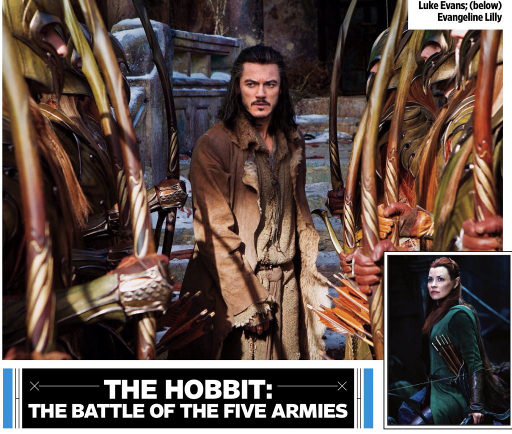 The Hobbit 3 The Battle of The Five Armies Movie Trailer ...