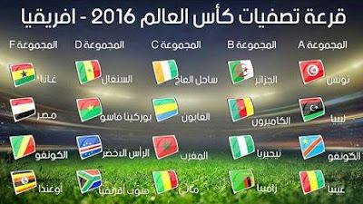 المباريات الإفريقية المؤهلة لكأس العالم 2018