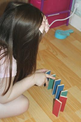 construire avec des dominos
