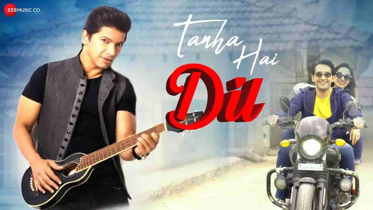 तन्हा है दिल Tanha hai dil lyrics in Hindi Shaan Hindi Song