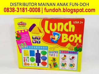 Mainan perempuan memasak, fun doh lunch box, mainan anak perempuan 2 tahun, mainan anak perempuan 3 tahun, mainan anak-anak masak-masakan, mainan anak perempuan masak masakan,