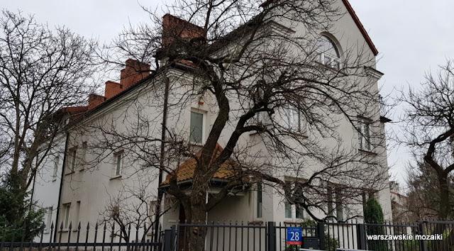 Warszawa Warsaw Żoliborz zoliborz architektura warszawskie ulice architektura żoliborza Żoliborz Dziennikarski willa
