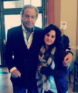 Arturo Fernández con Chica sombra
