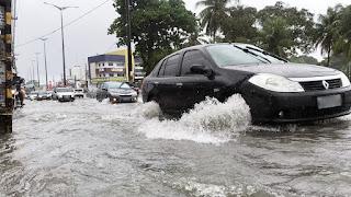 Chove 104 mm em João Pessoa nas últimas 24 horas, diz Defesa Civil