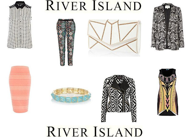 River Island Geometric Fashion