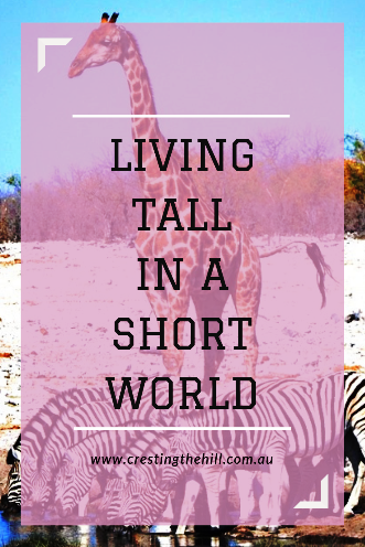 When the world caters to shorter people - how do you live tall?