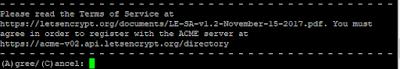 Persetujuan ToS SSL