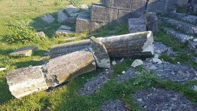 Vandals attack ancient Greek site of Apollonia in Albania