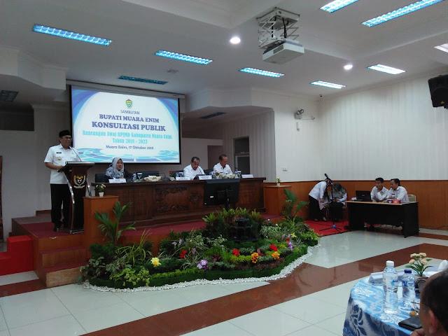 Pemkab Muara Enim Laksanakan Konsultasi Publik RPJMD Tahun 2018-2023