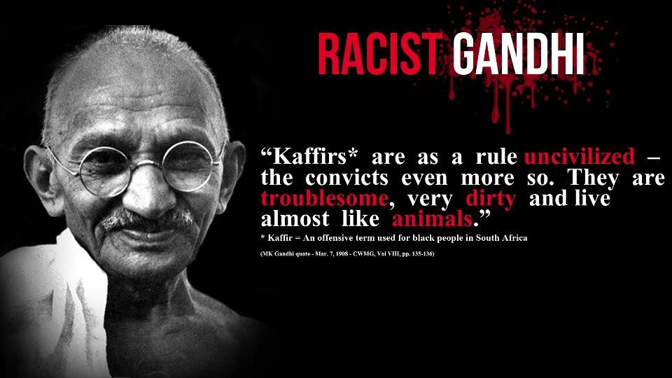 Ghandi Rassist