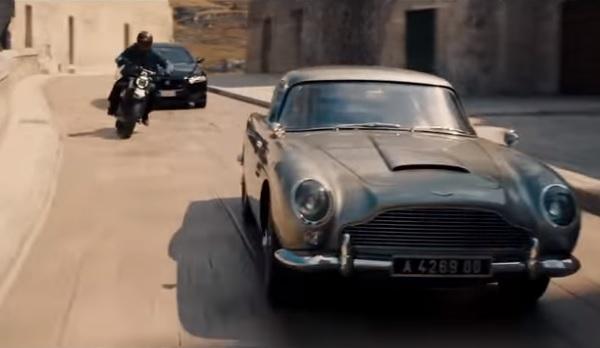 Autos James Bond 007 Sin tiempo para morir