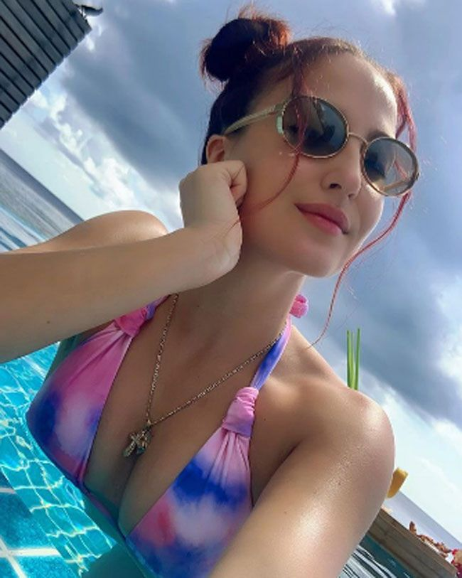 Actors Gallery: Elli AvrRam posed for photos in a different styles