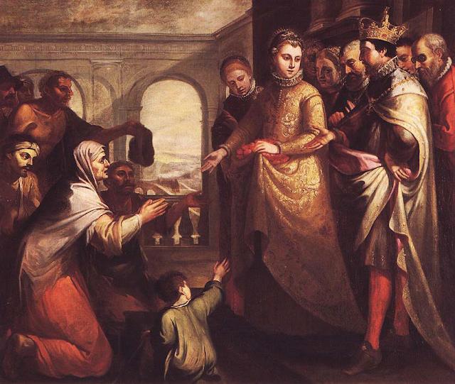 Resultado de imagem para Santa Isabel da Hungria e da Turíngia