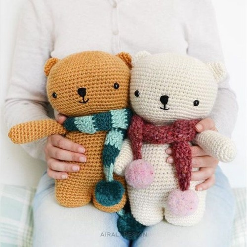 Bear with Scarf - Free Pattern