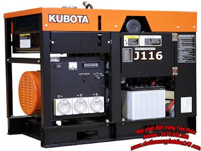 Máy phát điện Kubota 16kva J116