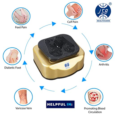 JSB HF91 Blood Circulation Massager Machine to Improve Blood Circulation and Get Relief From Muscular Pain